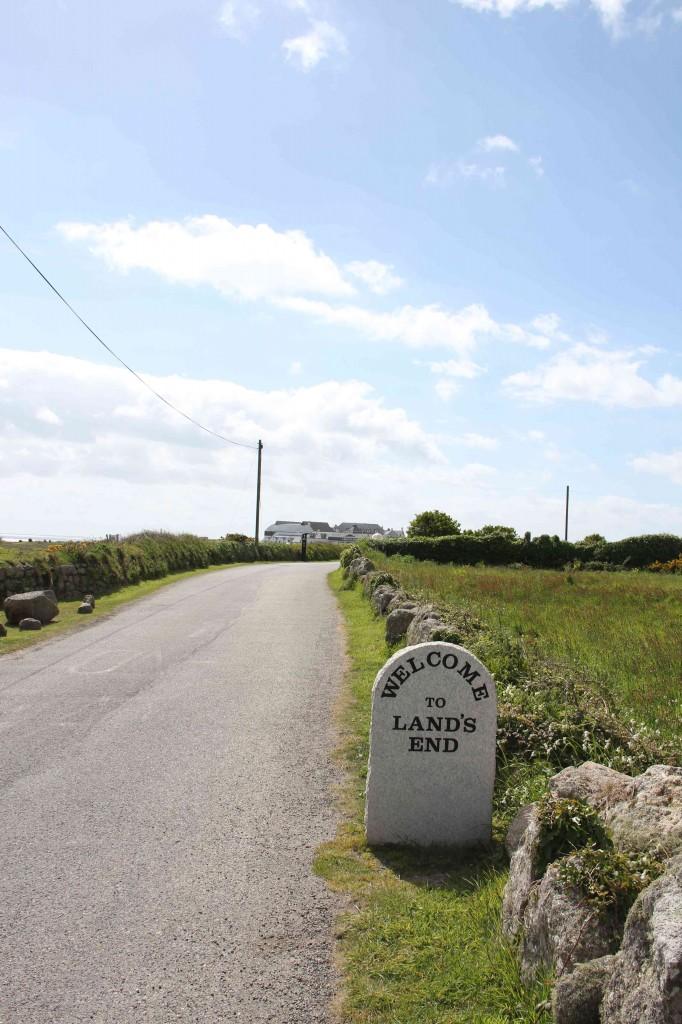 Land's End, het meest westelijke punt van het Britse vaste land