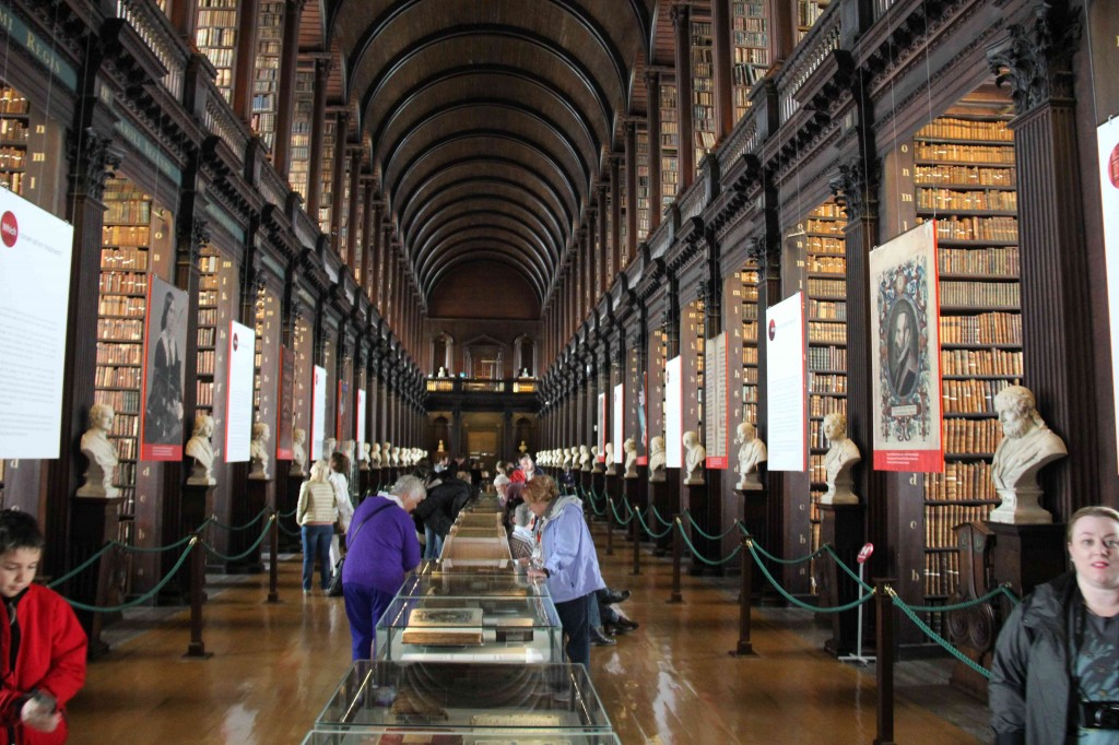 The Long Room, Trinity College Library, Dublin