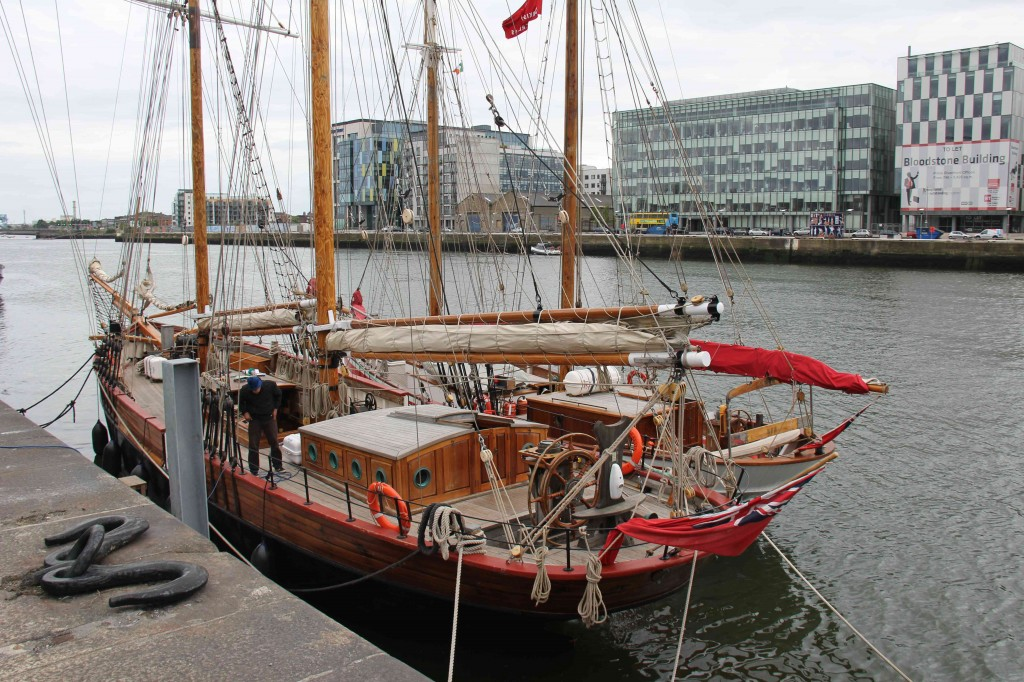 Oude schepen in de haven